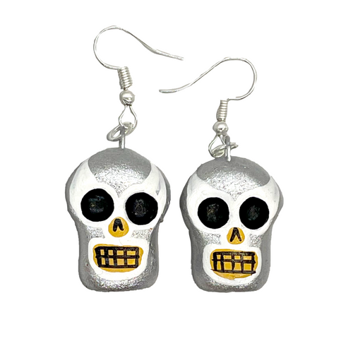 Handmade Earrings - Luchadores Lucha Libre, Mexican Wrestlers, Masks