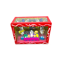 Load image into Gallery viewer, Handmade Shadow Box Nicho - Calaca / Skeleton Ofrenda