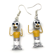 Load image into Gallery viewer, Handmade Earrings (Lucha Libre)