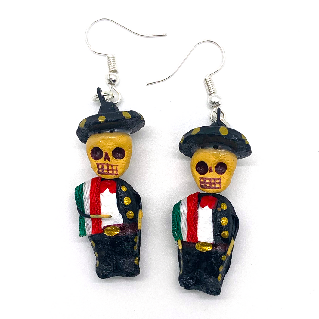 Handmade Earrings - Mariachi