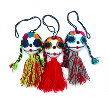 Load image into Gallery viewer, Handmade Plush Skull (Catrina)