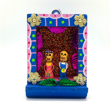Load image into Gallery viewer, Handmade Shadow Box Nicho - Frida & Diego