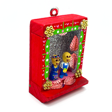 Load image into Gallery viewer, Handmade Shadow Box Niche - Frida & Diego