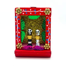 Load image into Gallery viewer, Handmade Shadow Box Nicho - Lucha Libre