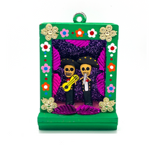 Load image into Gallery viewer, Handmade Shadow Box Nicho - Mariachi