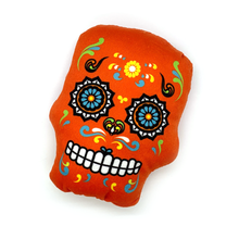Load image into Gallery viewer, Dia de los Muertos - Calavera Pet Toy with Sound