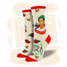 "Load image into Gallery viewer, Women's Frida Kahlo ""Viva La Frida"" Socks"