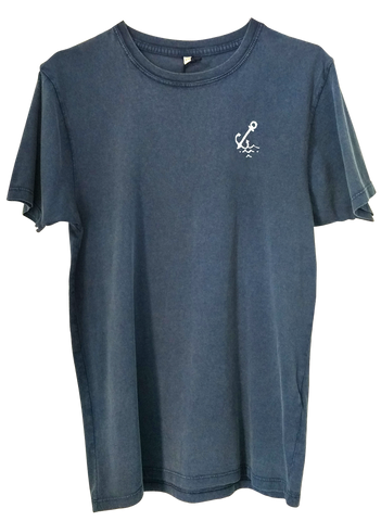 Anchor Tee - Navy Wash