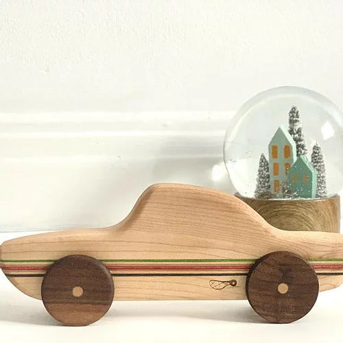 ARTISTIC CABINETWORK, WOODEN TOY, LARGE CAR, Gabriel Perreault
