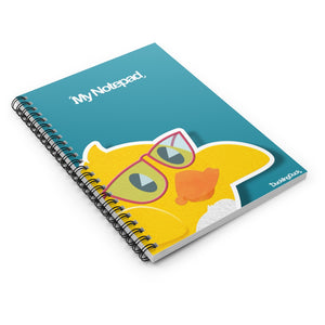 DucklingPad - Spiral Notebook - Ruled Line