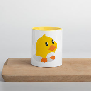 Duckling Duck - Mug with Color Inside