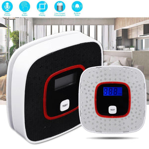 LCD Smoke Alarm/Carbon Monoxide Detector Combination with Voice Monitor