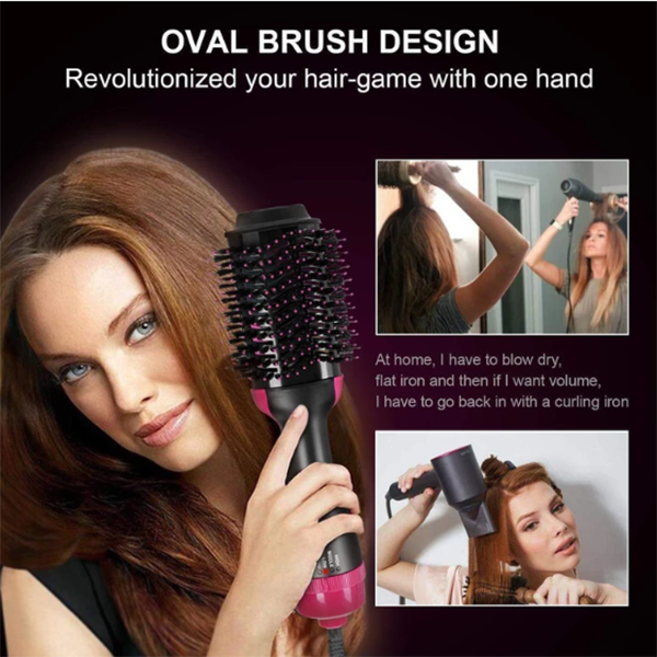 4 IN 1 Multifunctional Electric Hot Air Round Brush Blow Dryer - Skyaish®