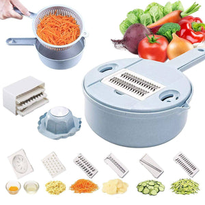 10 in 1 Vegetable Slicer Cutter And Shredder