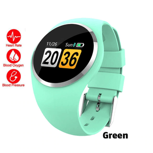 Blood Pressure Smart Sports Watch - Waterproof Heart Rate Monitor Fitness Tracker Smartwatch