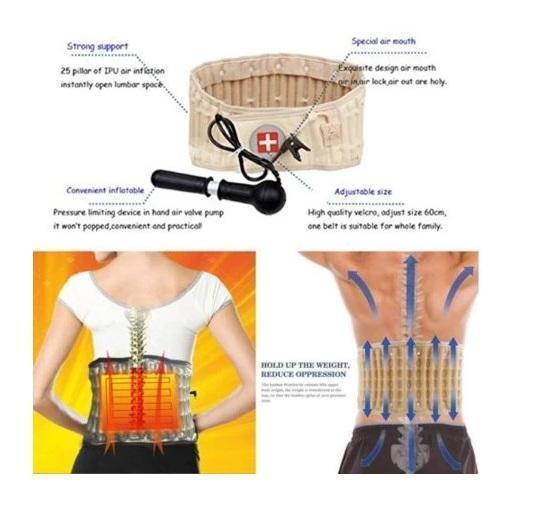 Lumbar Support Back Pain Relief Belt