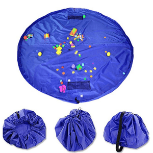 Portable Kids Play Mat and Toy Storage Bag