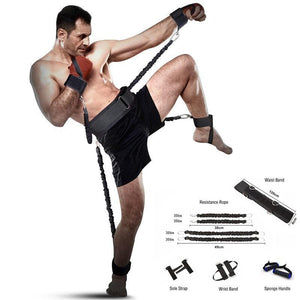 Boxing and Crossfit Resistance Bands Set