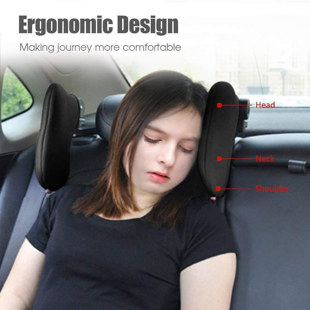 180 Degree Adjustable Car Headrest