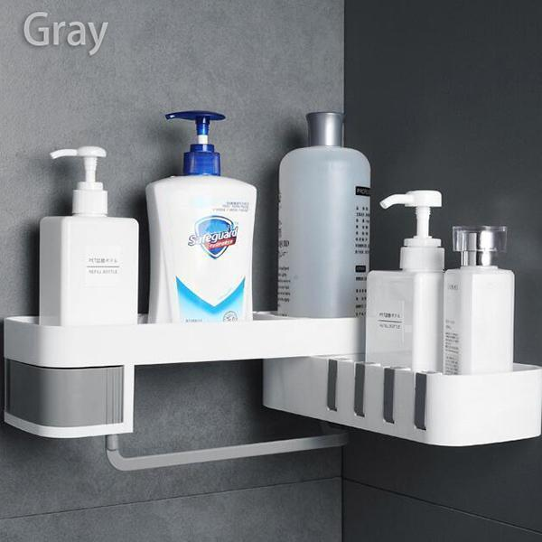 Seamless Rotating Tripod Bathroom Organizer