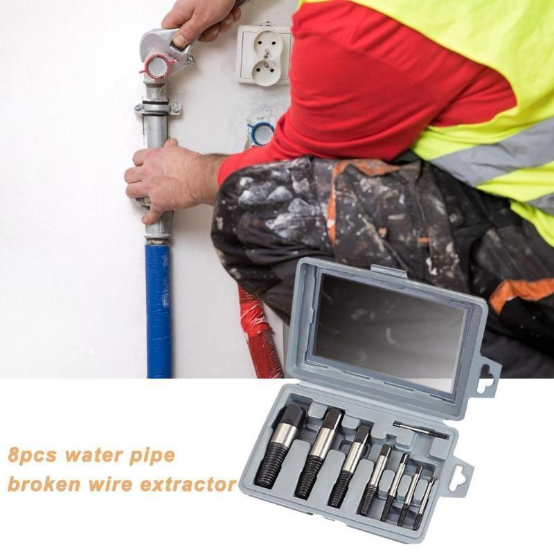 Pipe Screw Extractor Set