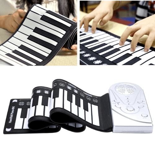 The Portable Roll Up Piano