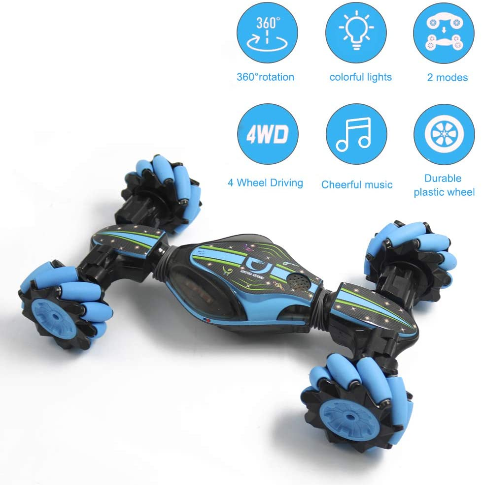 Gesture Control Stunt Car 4WD 2.4GHz Remote Control Car