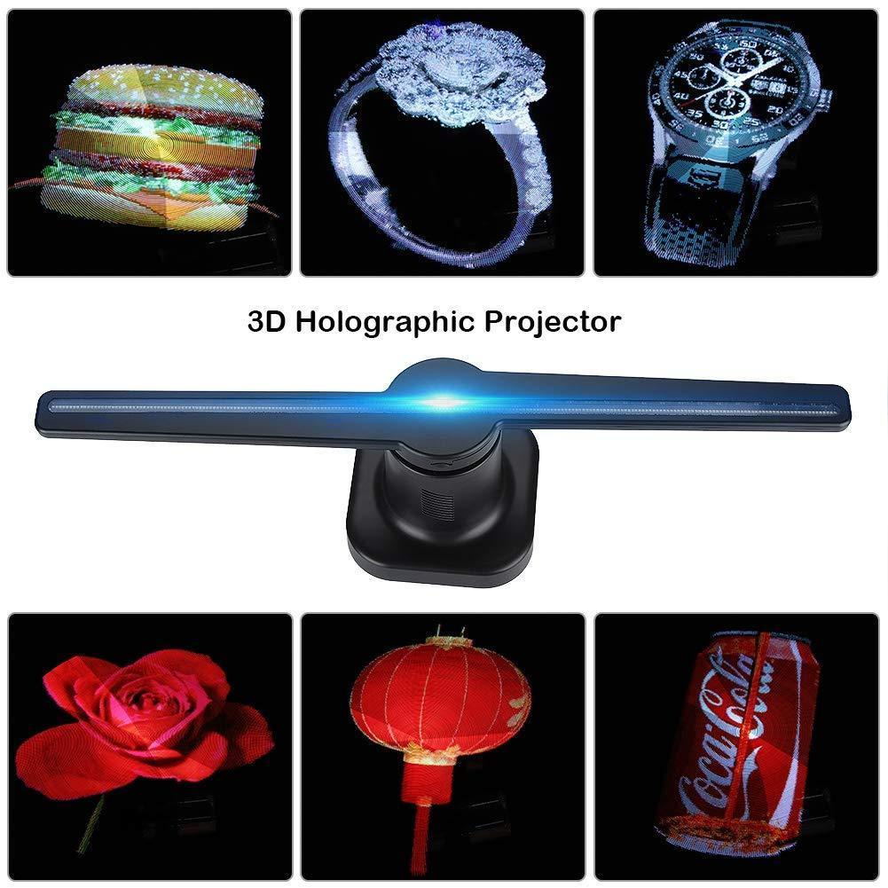 3D Hologram LED Display Projector Fan
