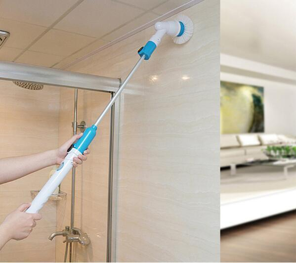 Hurricane Spin Scrubber™ With Extension Handle
