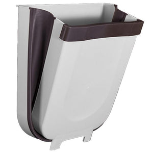 Wall Mounted Foldable Trash Bin