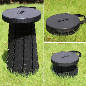 Camping Retractable Folding Stool