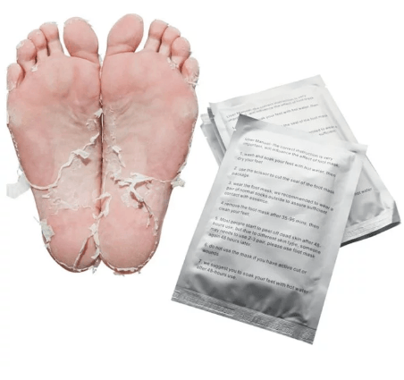 Exfoliating Foot Peel Mask (3 Pairs)