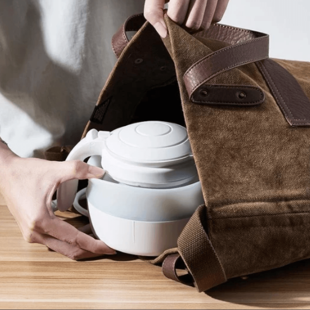 Collapsible Travel Electric Kettle