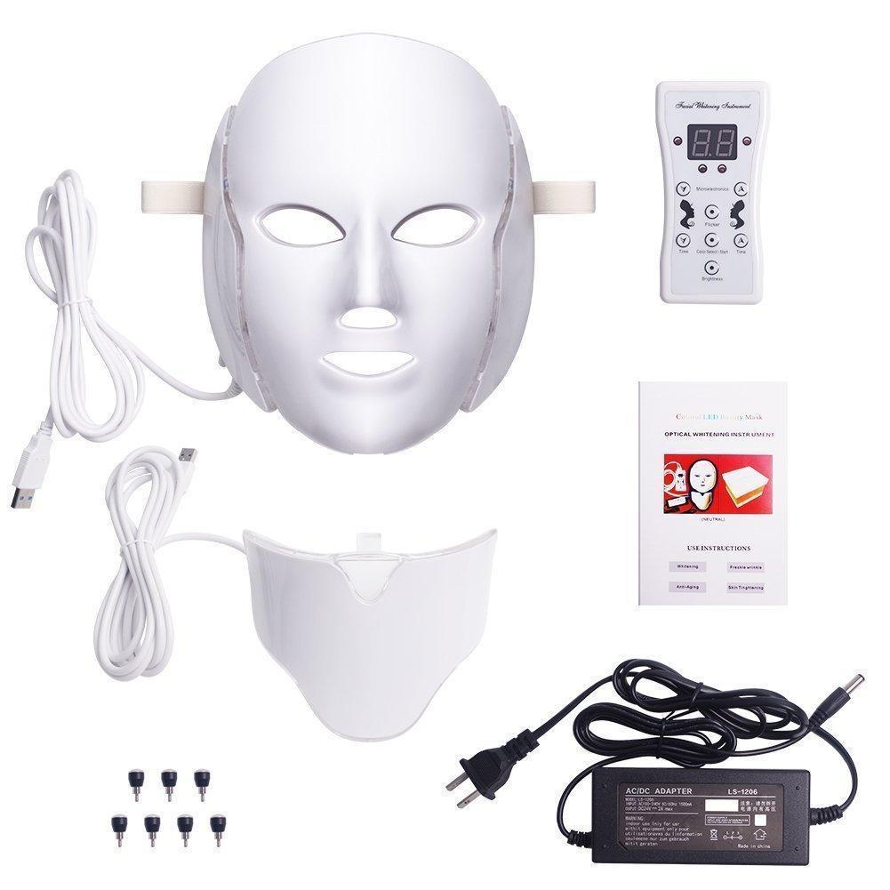 DermaLight - Professional LED Light Therapy Mask
