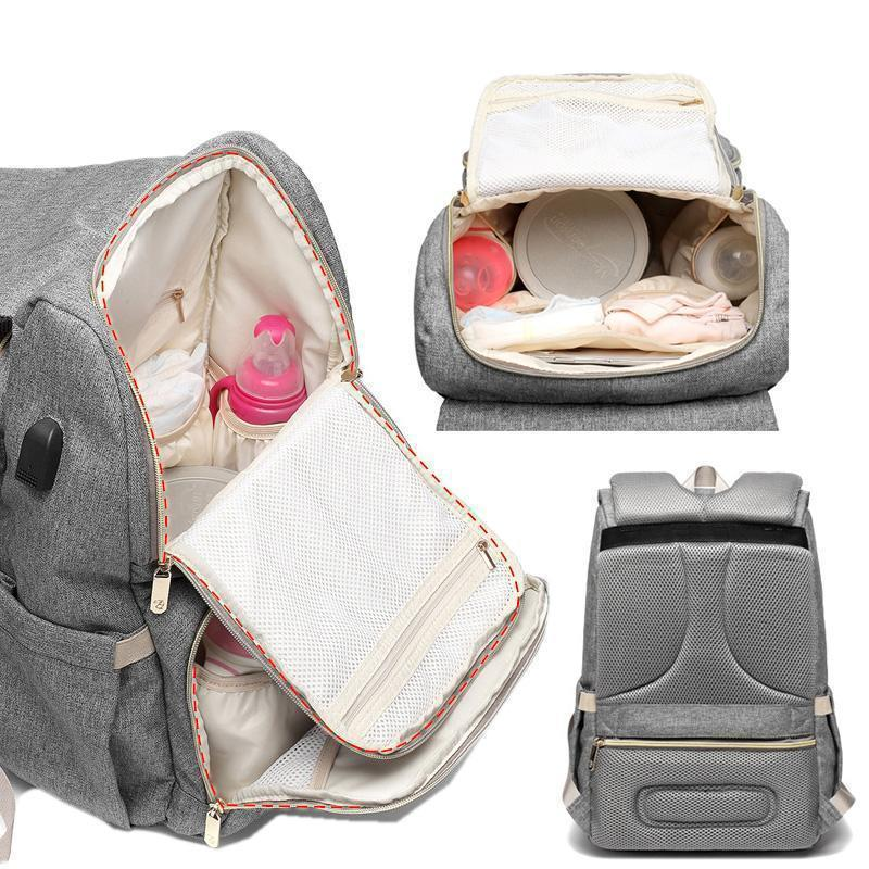 Diaper Bag, Maternity Backpack with Charger - Skyaish®