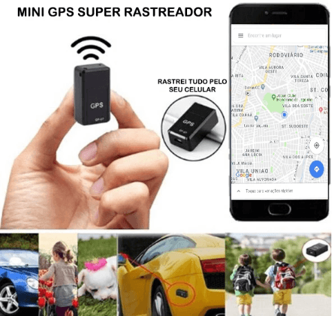 Smart Mini GPS Tracker - Real Time Location