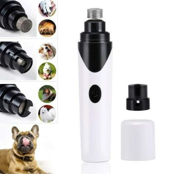 Best Ever Rechargeable Painless Pet Nail Grinder