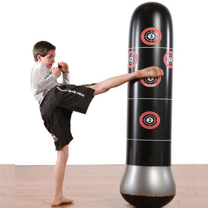 Free Standing Inflatable Punching Bag with Air Pump