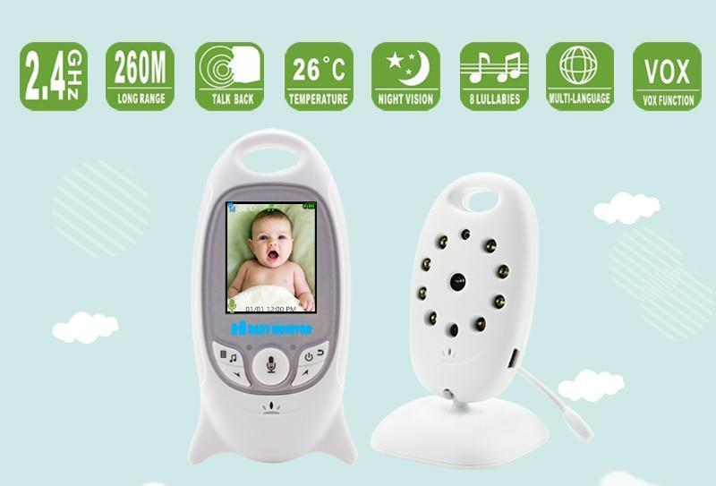 Wireless Baby Monitor Mini Camera with Night Vision