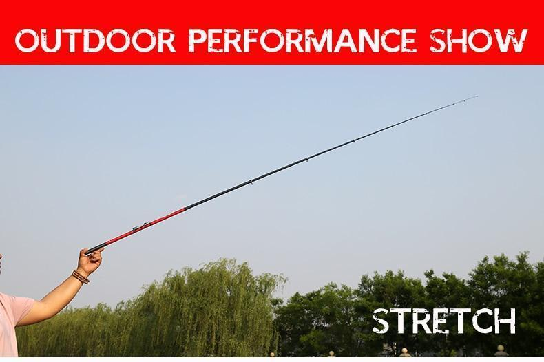 Portable Rotary Fishing Rod - 6.3M