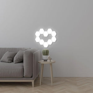 Hexagonal Modular Touch Lamp