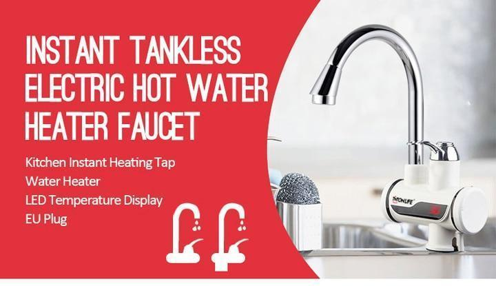 Instant Tankless Electric Water Heater Faucet