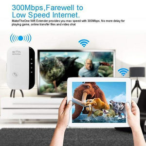 Smart WIFI Repeater Range Extender - Signal Booster