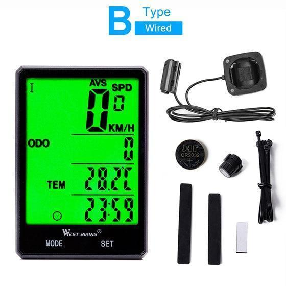 Waterproof Bicycle Speedometer