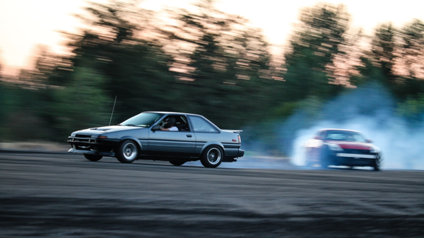 AE86 drifting with Annex Suspension Group Coilovers