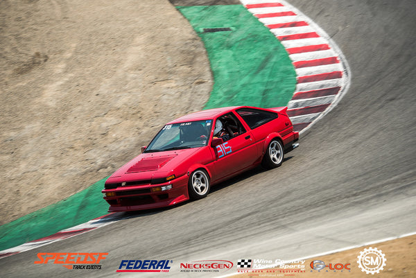 CMAH AE86 on Annex Coilovers