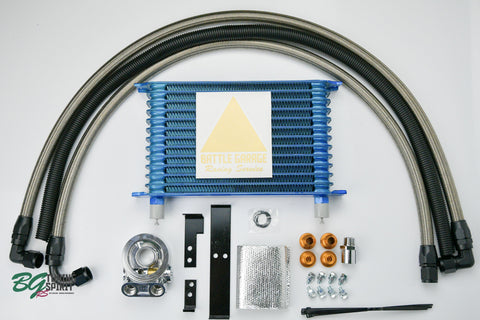 TRUST / GReddy 13-Row Oil Cooler kit with thermostat for AE86