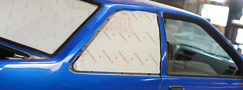 Lexan Quarter Windows for AE86 Coupe or Hatch