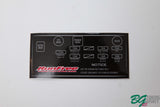 AE86 Trueno Fuse Box Sticker Run Free