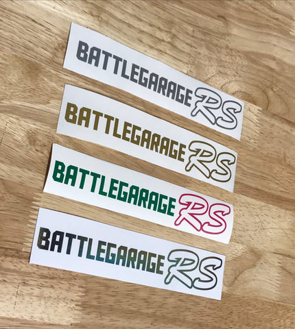 Battle Garage Script Sticker